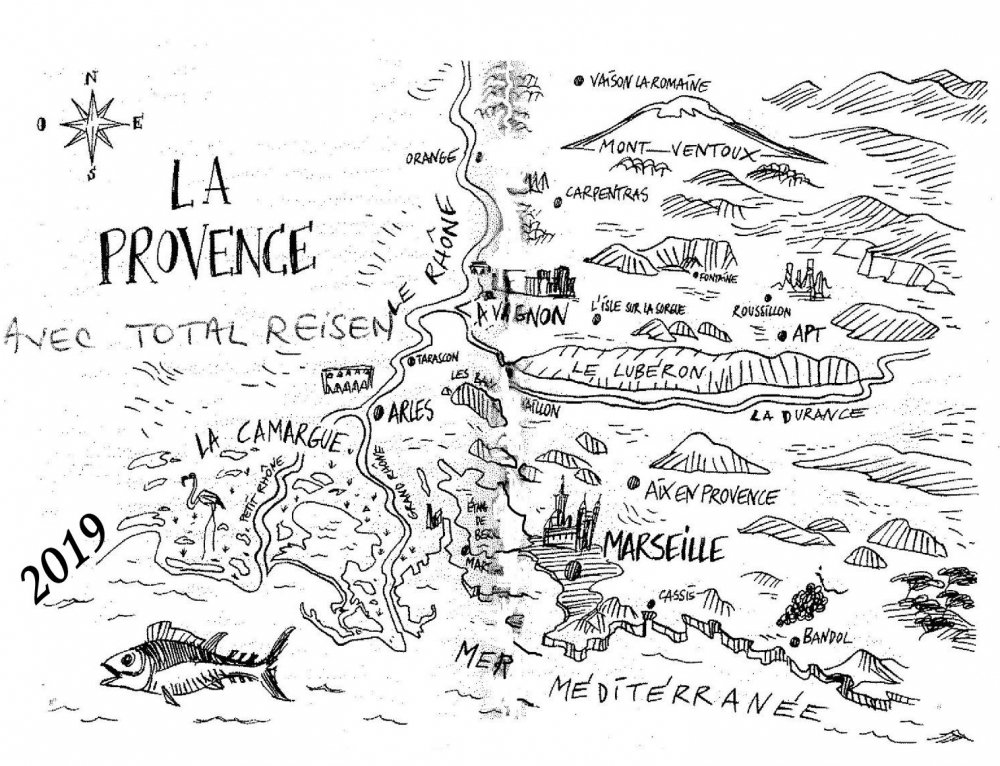 PROVENCE – LANGUEDOC 2019