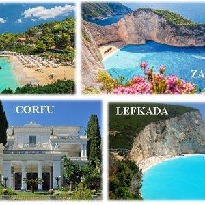 Circuit Insule grecesti Insulele ionice Lefkada, Corfu, Zakynthos, Kefalonia, Insula Egina, Atena, Ioannina