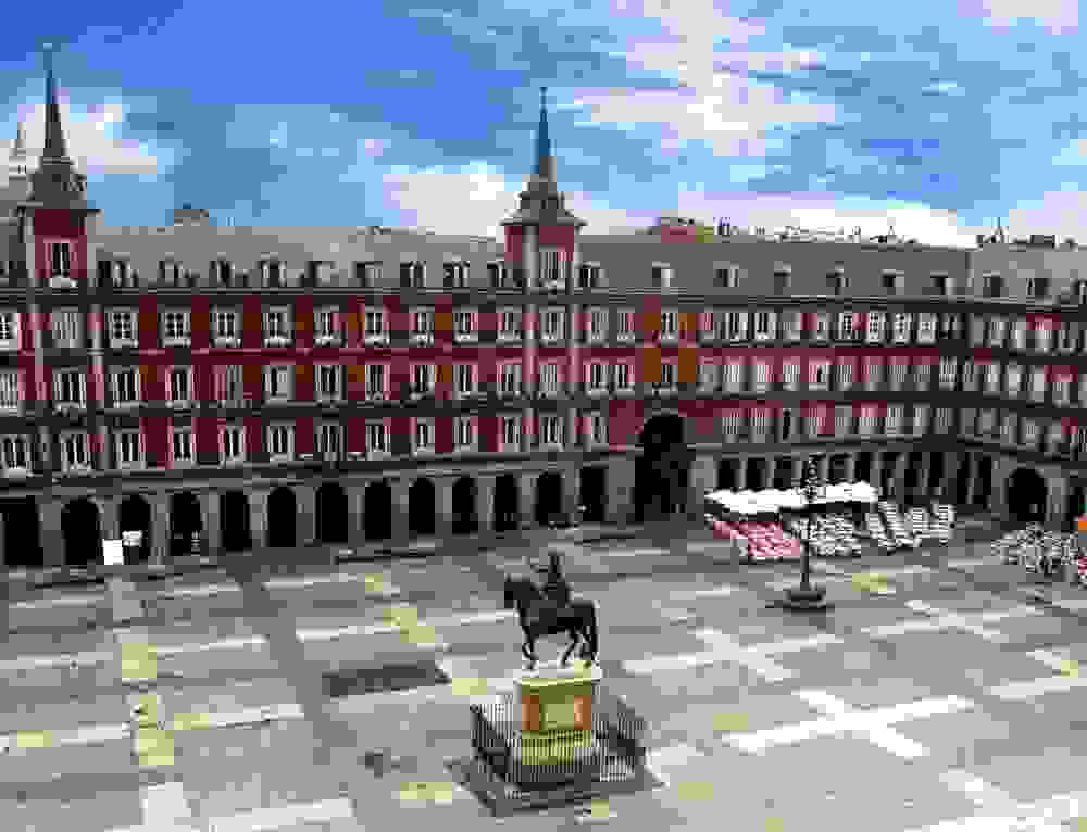 Madrid- Plaza Mayor
