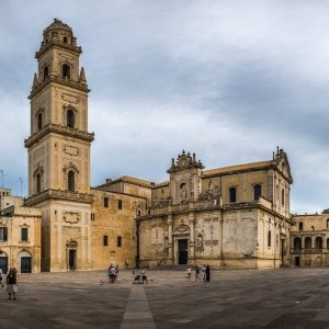 Lecce Piata Catedralei